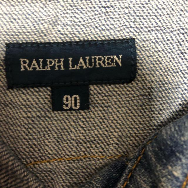 Ralph Lauren(ラルフローレン)のRalphLaurenデニムワンピース キッズ/ベビー/マタニティのキッズ服 女の子用(90cm~)(ワンピース)の商品写真