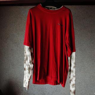 ステューシー(STUSSY)のbad boy タイダイ ビッグTシャツ(Tシャツ/カットソー(七分/長袖))