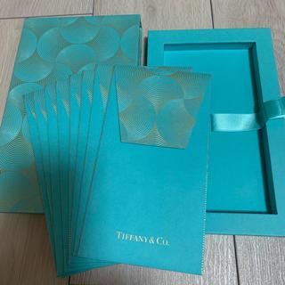 ティファニー(Tiffany & Co.)のティファニー 封筒セット(カード/レター/ラッピング)