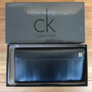 カルバンクライン(Calvin Klein)の【中古】二つ折り長財布(メンズ) カルバンクライン(長財布)