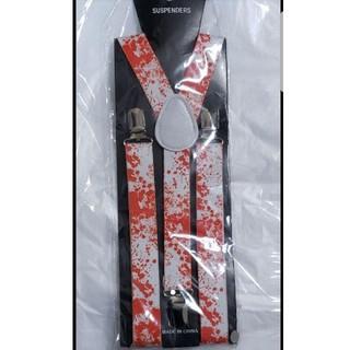 WEGO - 血しぶき グロかわ サスペンダー 新品未使用