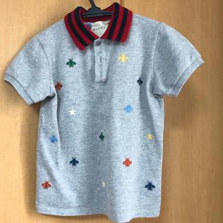 グッチ(Gucci)のGUCCI ポロシャツ 半袖 グッチサイズ 6 116センチ ビー ハチ 美品(Tシャツ/カットソー)