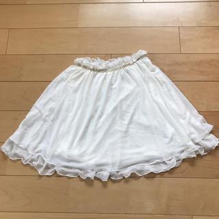 ジーユー(GU)のスカート 女の子 110 チュールスカート(スカート)