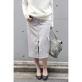 ノーブル(Noble)のフープジップフレンチコールスカート(ひざ丈スカート)