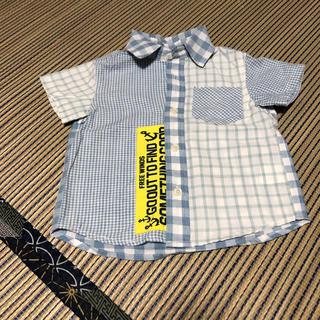 ニシマツヤ(西松屋)のシャツ チェック (ブラウス)