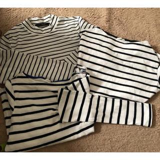 ジーユー(GU)のボーダーロンT、Tシャツ(Tシャツ(長袖/七分))