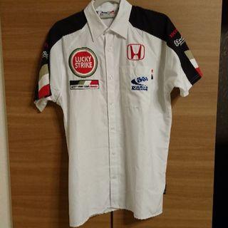 ホンダ(ホンダ)の■美品■BAR HONDA F1 ラッキーストライク チームシャツ XS(その他)