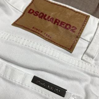 ディースクエアード(DSQUARED2)のDsquared2(ディースクエアード) 白パン(ワークパンツ/カーゴパンツ)