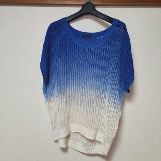 シマムラ(しまむら)のブルーグラデーション Tシャツ(Tシャツ(半袖/袖なし))