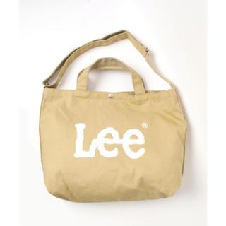 16c0f57519ca リー(Lee)の 新品 Lee リー ショルダートートバッグ バッグ ベージュ(トートバッグ