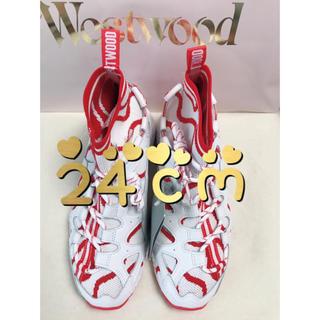 ヴィヴィアンウエストウッド(Vivienne Westwood)のVivienne Westwood ×ASICSTIGERコラボモデル☆24cm(スニーカー)