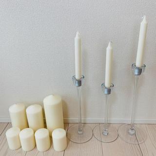 イケア(IKEA)の【値下中】IKEA キャンドル キャンドルスタンド(その他)