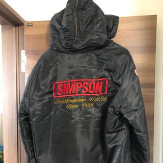 シンプソン(SIMPSON)のシンプソン N-2Bジャケット 美品(ライダースジャケット)