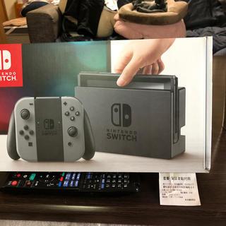 ニンテンドースイッチ(Nintendo Switch)のザキゴン様専用 Nintendo Switchグレー本体(家庭用ゲーム機本体)