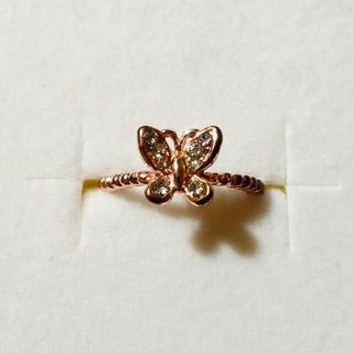 蝶々のリング(リング(指輪))