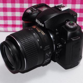 ニコン(Nikon)の❤日常の幸せをこのカメラで❤ Nikon D70 レンズキット(デジタル一眼)