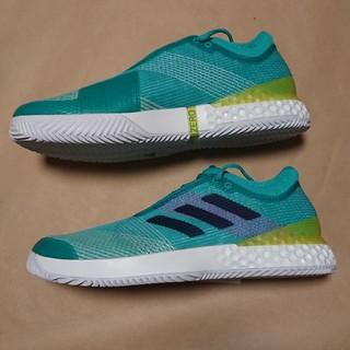アディダス(adidas)のテニスS 27.5cm アディダス ウーバーソニック 3 MC(シューズ)