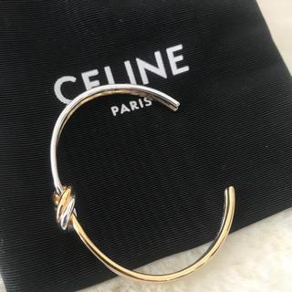 セリーヌ(celine)のCELINE Double KNOTブレスレットGOLD/Silver C1新品(ブレスレット/バングル)