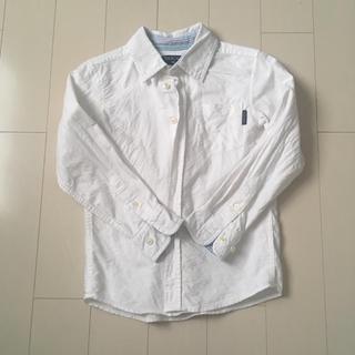 ニシマツヤ(西松屋)のキッズ 西松屋 白シャツ 130(ブラウス)