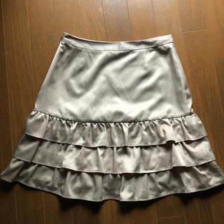 プーラフリーム(pour la frime)のスカート・フリル・ミニ♡Sサイズ(ひざ丈スカート)