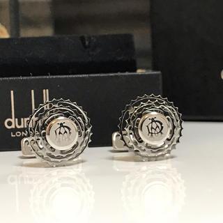 ダンヒル(Dunhill)の2016年購入 箱付き 美品 ダンヒル 回転ギア カフリンクス カフス(カフリンクス)