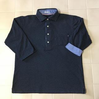 GU - GU メンズ5分袖ポロシャツ