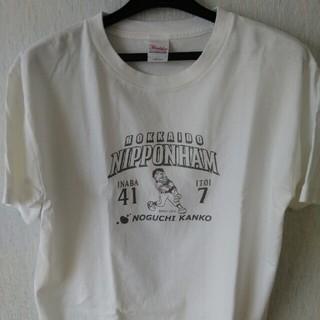 ホッカイドウニホンハムファイターズ(北海道日本ハムファイターズ)の紳士Tシャツ(Tシャツ/カットソー(半袖/袖なし))