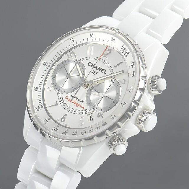 820f50d0de02 CHANEL(シャネル)のシャネルJ12 スーパーレッジェーラ H3410 メンズの時計(腕時計(