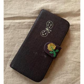 ミナペルホネン(mina perhonen)のミナペルホネン iPhone6 plus 手帳型ケース 訳あり品(iPhoneケース)