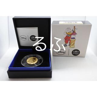 ディズニー(Disney)の2017年 ユーロ/euro ディズニー マクダック 1/4oz 金貨(貨幣)