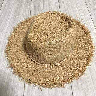 レイビームス(Ray BEAMS)の麦わらハット(麦わら帽子/ストローハット)