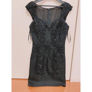 ジュエルズ(JEWELS)の【高級ドレスSタイトミニキャバドレス(カラー/サイズ: ブラック/Sサイズ)(ナイトドレス)
