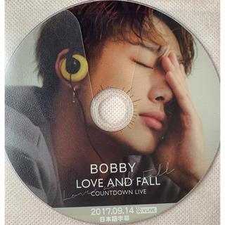 アイコン(iKON)のiKON バビ BOBBY LOVE AND FALL カウントダウンライブ(ミュージック)