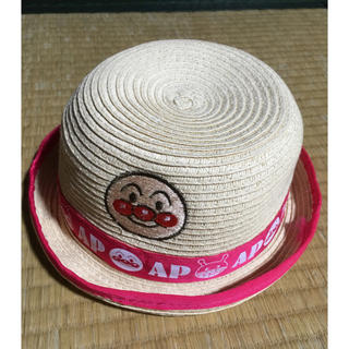 バンダイ(BANDAI)のアンパンマン麦わら帽子(48センチ)(帽子)
