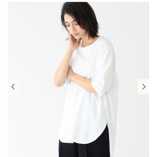 デミルクスビームス(Demi-Luxe BEAMS)のATON  エイトン  ラウンドヘムTシャツ(Tシャツ(半袖/袖なし))