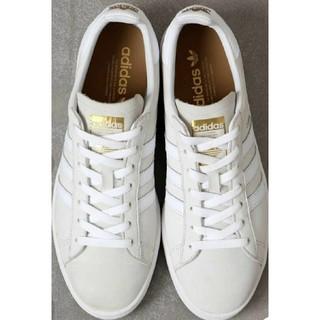 アディダス(adidas)のアディダス CAMPUS コートシューズ クリスタルホワイト 25.5cm(スニーカー)