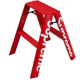 シュプリーム(Supreme)の18aw supreme Lucano step ladder red 脚立(その他)