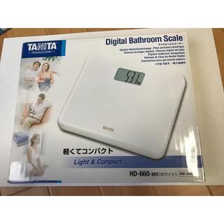 タニタ(TANITA)のTANITA タニタ 体重計 HD-660(体重計)