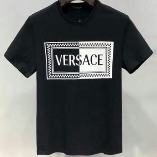 ヴェルサーチ(VERSACE)のVERSACE  シンプル  人気   メンズTシャツ    (Tシャツ/カットソー(半袖/袖なし))