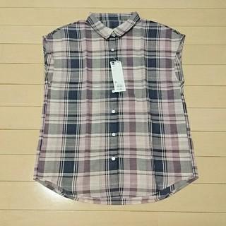 ジーユー(GU)のGU マドラスチェックシャツ(シャツ/ブラウス(半袖/袖なし))
