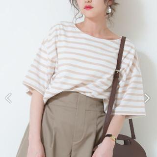 シマムラ(しまむら)のしまむら ボーダーユルT Mサイズ(Tシャツ(半袖/袖なし))