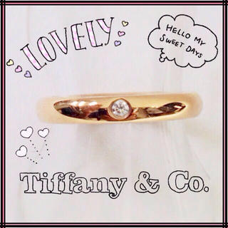 ティファニー(Tiffany & Co.)のティファニー 750PG バンドリング(リング(指輪))