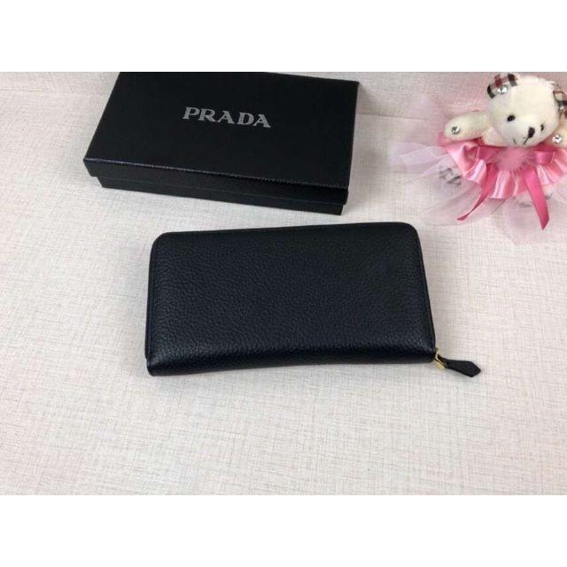 e3e596679752 PRADA - プラダ 長財布 ブラック ユニセックスの通販 by sha's shop ...