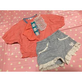 セラフ(Seraph)の80★美品2点♡セラフ、ブラウス、フリル付きショートパンツ(Tシャツ)