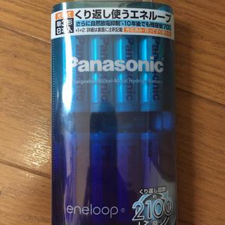 パナソニック(Panasonic)のパナソニック エネループ 単3形充電池 8本パック BK-3MCC/8(その他)