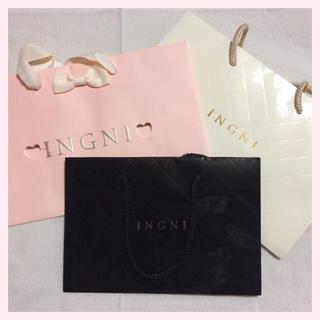 イング(INGNI)のINGNI ❁ ショップ袋 まとめ売り(ショップ袋)