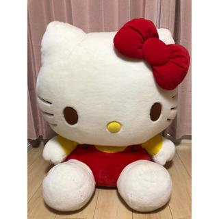 サンリオ(サンリオ)の☆かわいい‼︎‼︎‼︎☆特大サイズ☆キティちゃんぬいぐるみ☆(ぬいぐるみ/人形)