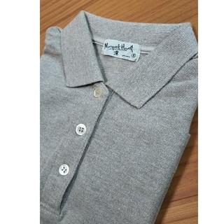 マーガレットハウエル(MARGARET HOWELL)のMARGARET HOWELL ポロシャツ グレージュ(ポロシャツ)