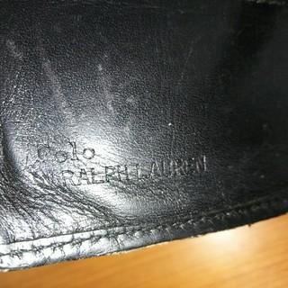 ラルフローレン(Ralph Lauren)のRALPH LAUREN  牛革ウォレット  中古(折り財布)