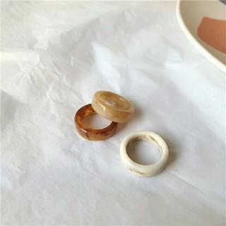 トゥデイフル(TODAYFUL)のインポート アクリル ring #154(リング(指輪))